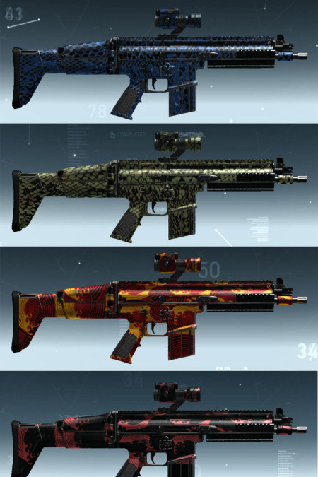 phantoms camo weapons